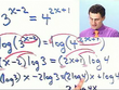 College Algebra: Exponential & Log Equations